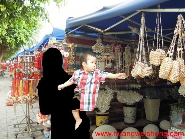 HuangWeiSheng Tours XiaChong / 黄玮晟游中国 广东省惠州惠阳区霞涌镇海边