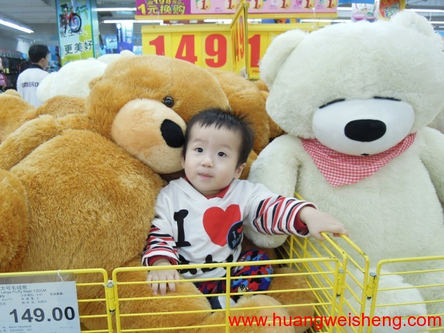 Teddy Bear and Weisheng / 玮晟和大熊 1
