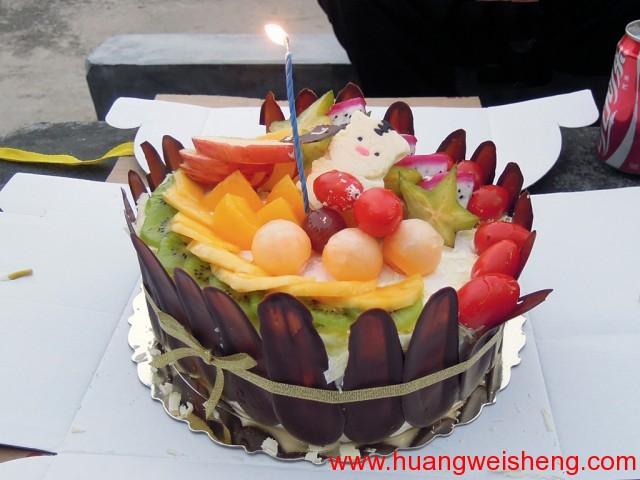 Weisheng's birthday cake / 玮晟生日蛋糕